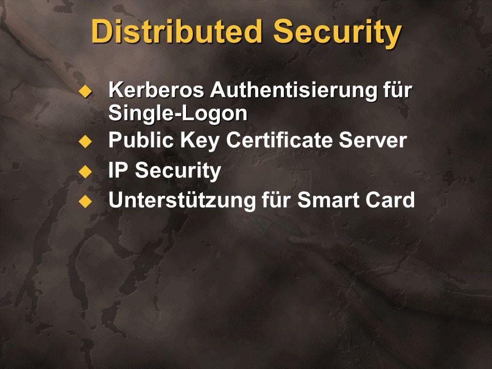 PBS-Dev1 (Windows NT 5.0) Domain Kerberos Trust Implementierung Anlegen des Domänenbaums Upgrade and join tree Domain Domain Microsoft.Com (Windows NT 5.0) PBS-Dev2 (Windows NT 4.0)
