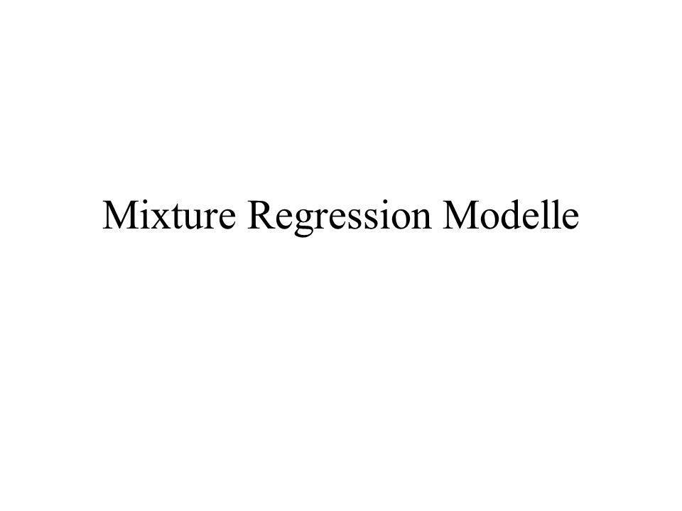 Gründe für die Anwendung von Mixture Regression Modellen am Beispiel der Conjointanalyse