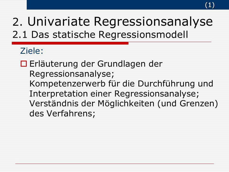 (2) (2) Grundfragen Warum überhaupt Schätzungen.