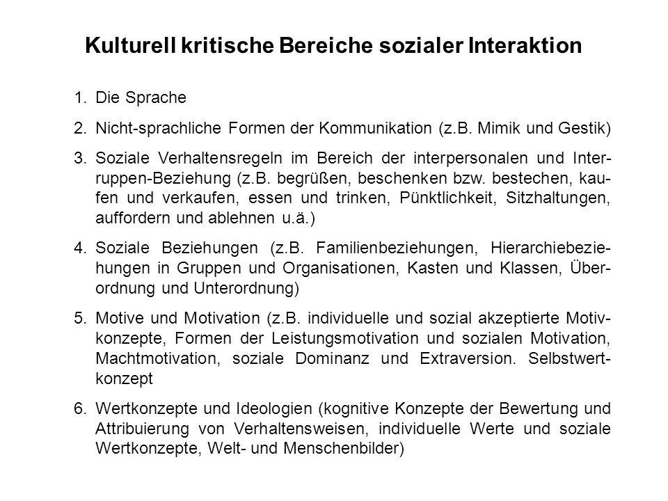 Evaluation interkultureller Trainings 1.