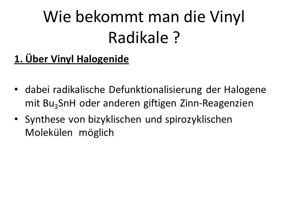 Wie bekommt man die Vinyl Radikale . 1.