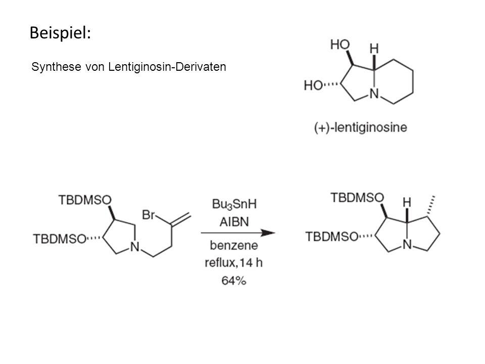Beispiel: Synthese von Lentiginosin-Derivaten