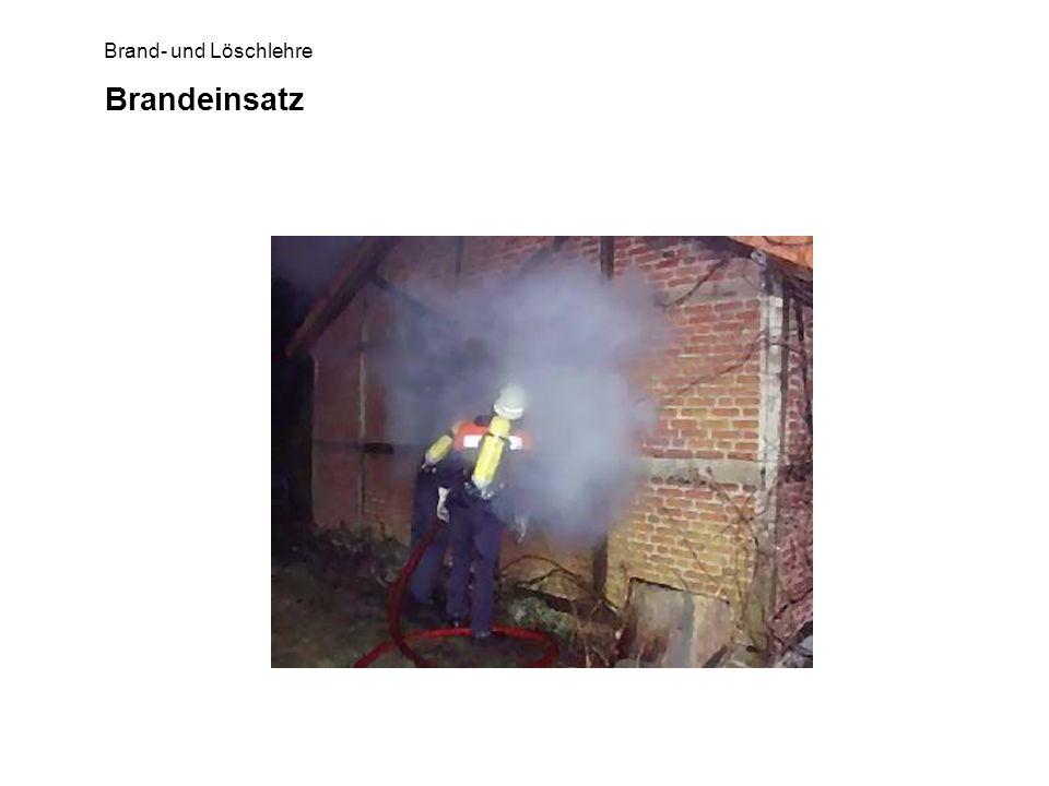 Brand- und Löschlehre Brandeinsatz