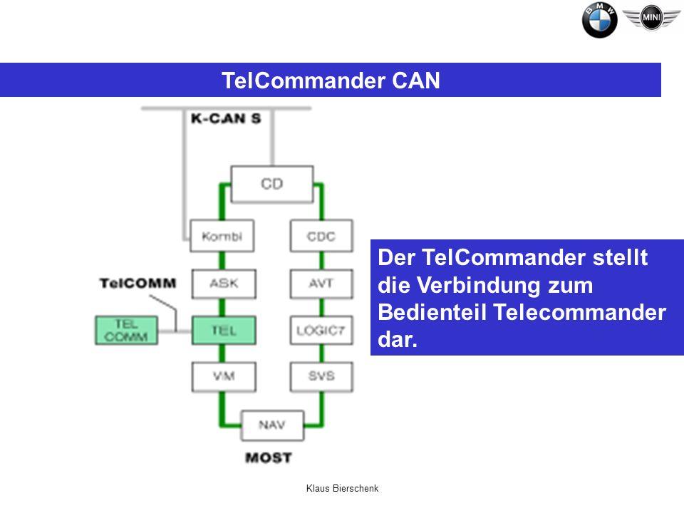 TelCommander CAN Der TelCommander stellt die Verbindung zum Bedienteil Telecommander dar.