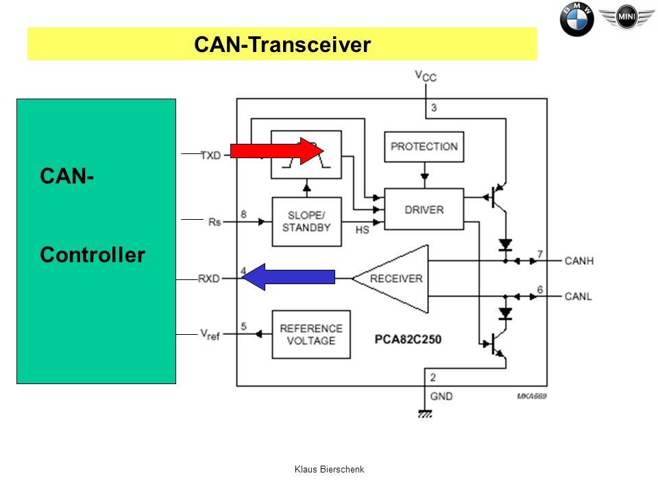 Klaus Bierschenk CAN- Controller CAN-Transceiver