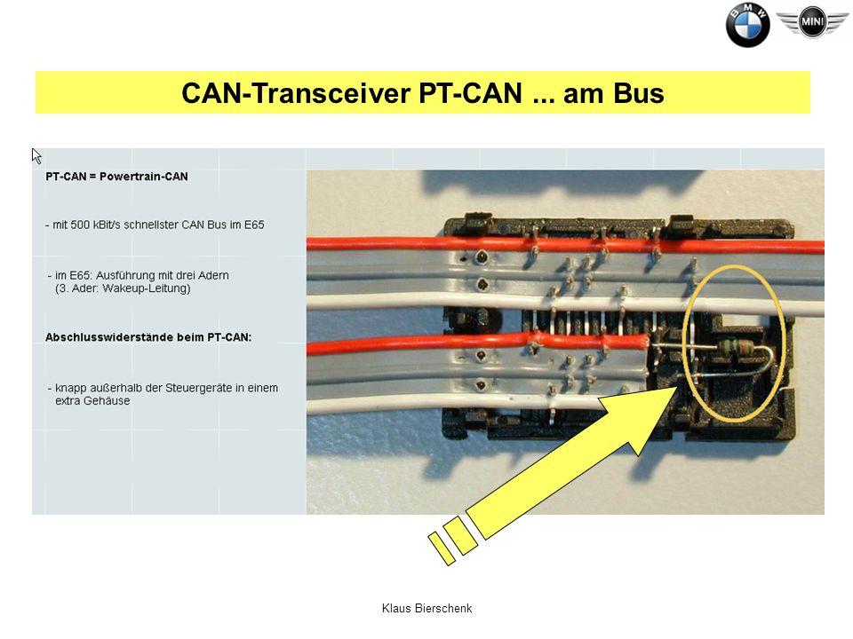 Klaus Bierschenk CAN-Transceiver PT-CAN... am Bus