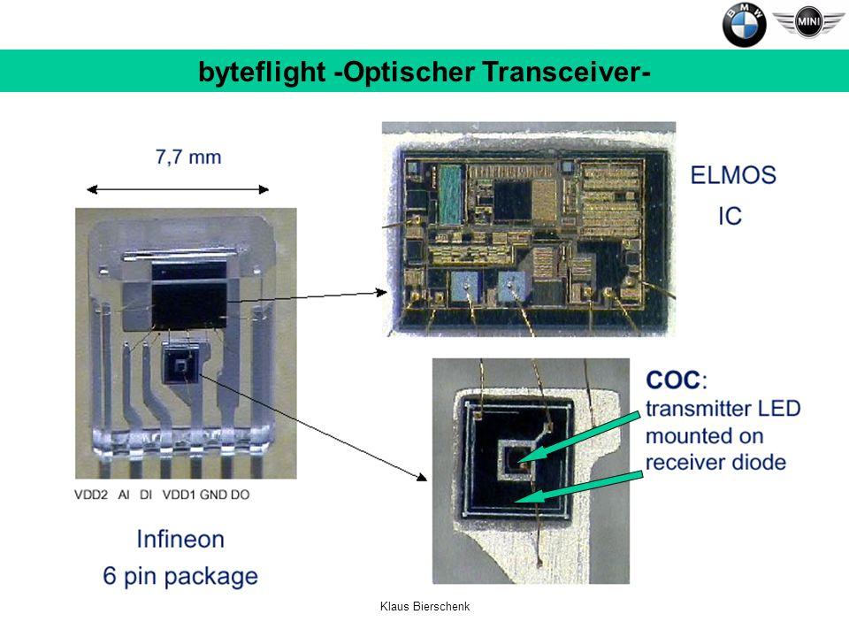 Klaus Bierschenk byteflight -Optischer Transceiver-