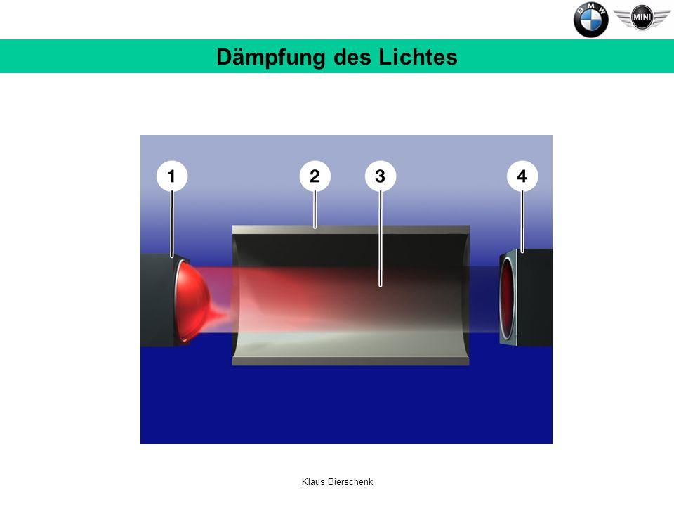 Klaus Bierschenk Dämpfung des Lichtes