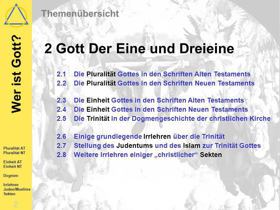 Das Allerheiligenbild, Albrecht Dürer, 1511. Gott Der Eine und Dreieine Wer ist Gott? SBS Trier-Karlsruhe-Mannheim-Mainz, 2003 2