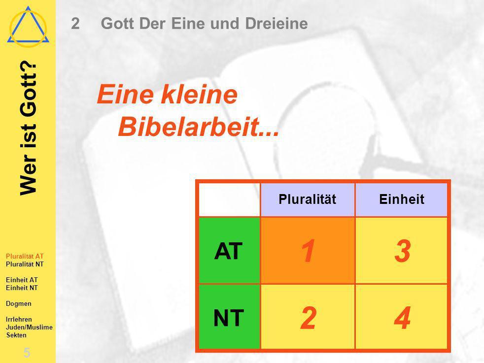 Wer ist Gott.5 Eine kleine Bibelarbeit...