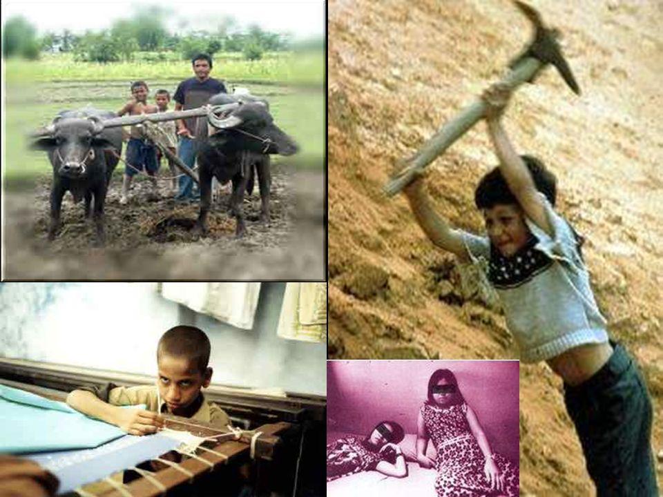 In welchen Bereichen gibt es Kinderarbeit? Herstellung von Kleidung Herstellung von Sportartikeln Herstellung von Schuhen Herstellung von Spielzeug He
