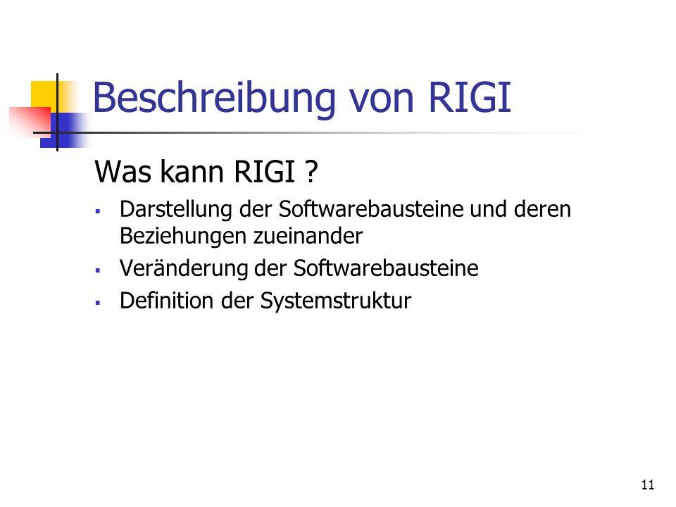 11 Beschreibung von RIGI Was kann RIGI .