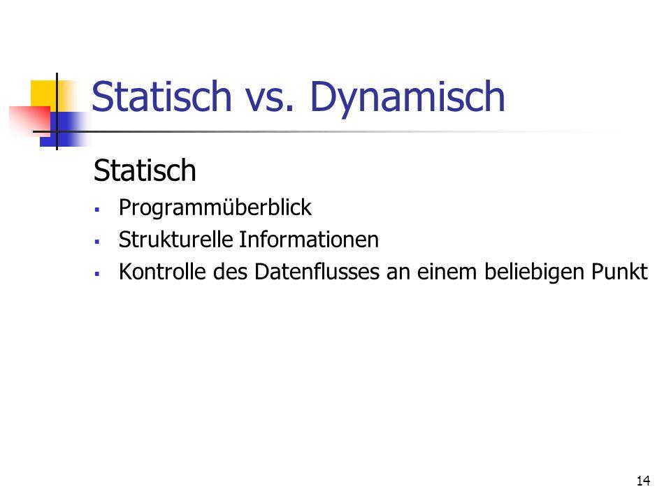 14 Statisch vs.