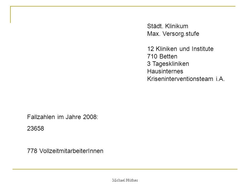 Michael Hüfner zugrundeliegender Auswertungsbogen