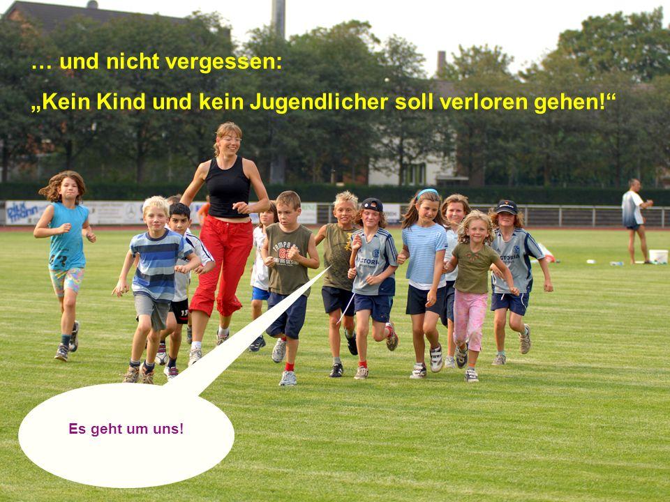 15 | Der Kinder- und Jugendsport in Bildungsnetzwerken, Köln 17.03.2010 15 … und nicht vergessen: Kein Kind und kein Jugendlicher soll verloren gehen!
