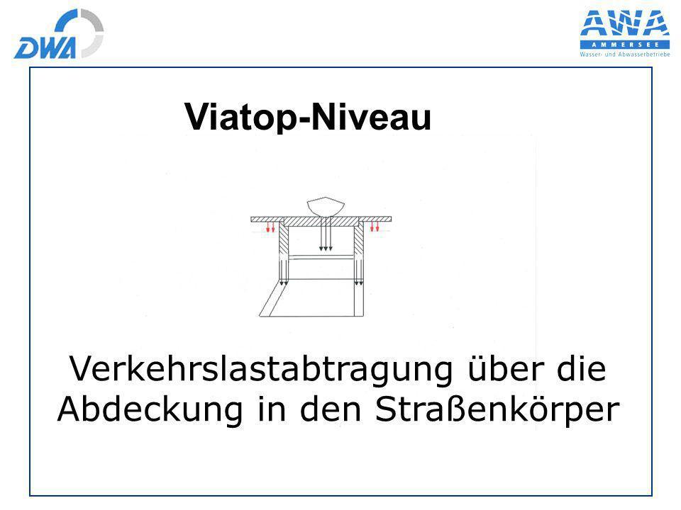 Viatop-Niveau Verkehrslastabtragung über die Abdeckung in den Straßenkörper