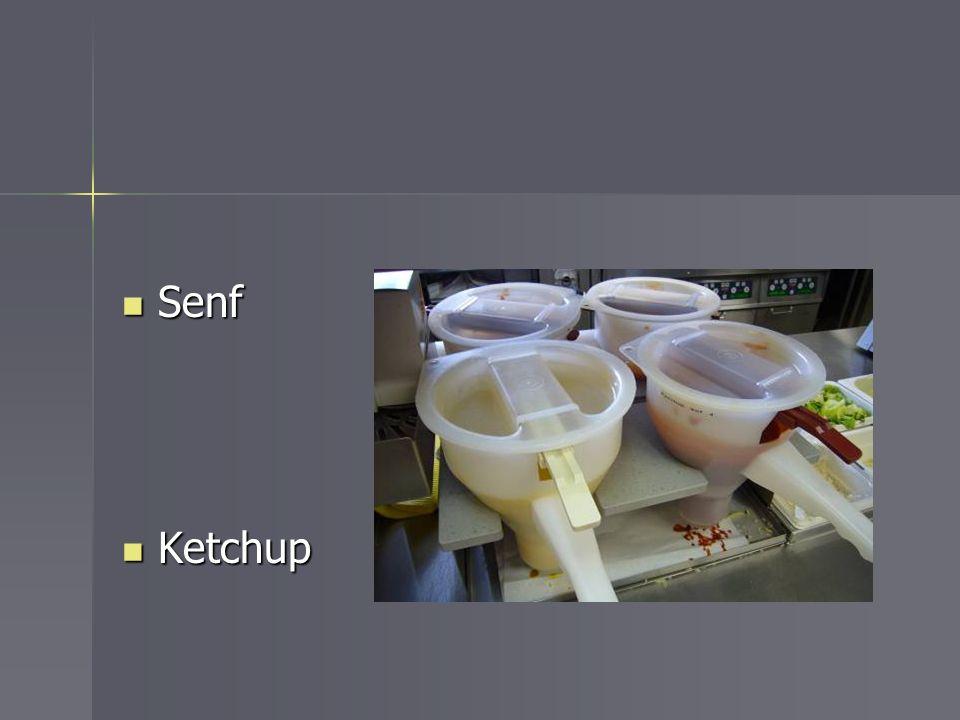 Senf Senf Ketchup Ketchup