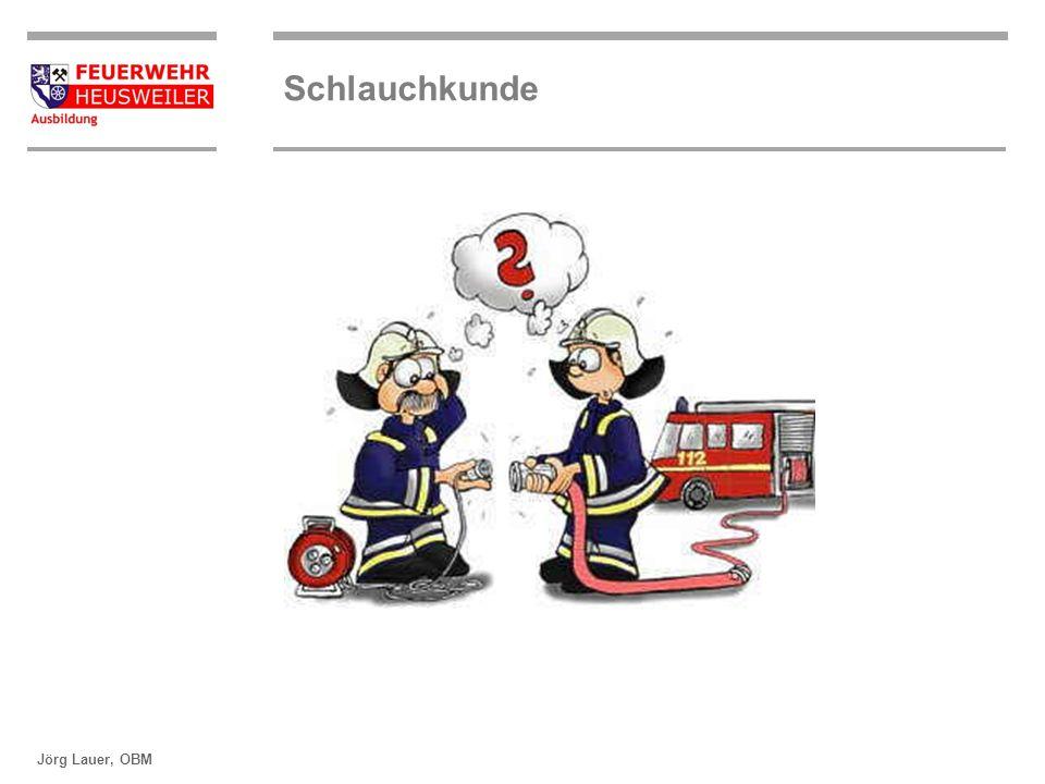 ©OBM Dirk Ziegler OBM Dirk Ziegler Schlauchkunde Jörg Lauer, OBM Durchmesser von Druckschläuchen S