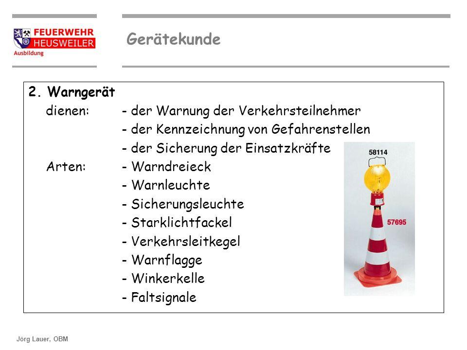 ©OBM Dirk Ziegler Gerätekunde Jörg Lauer, OBM 3.