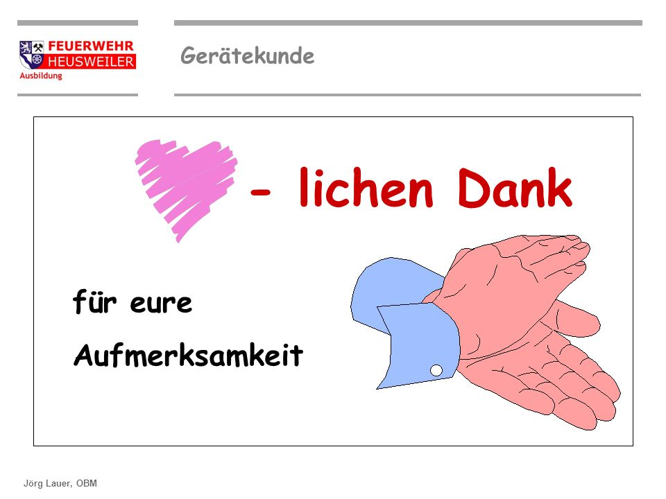 ©OBM Dirk Ziegler Gerätekunde Jörg Lauer, OBM