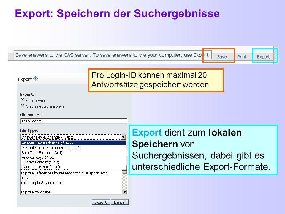 Export: Summary Content Das Summary Format besteht zwar aus den vollständigen bibliographischen Angaben, aber weiterhin leider nur aus maximal 600 Zeichen bei der Zusammenfassung…