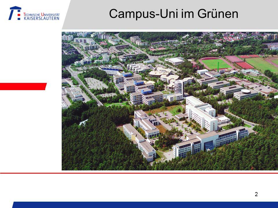 2 Campus-Uni im Grünen