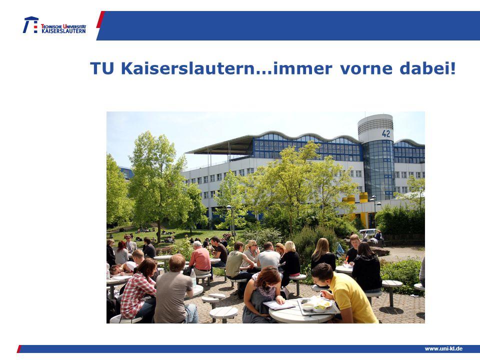 www.uni-kl.de TU Kaiserslautern…immer vorne dabei!