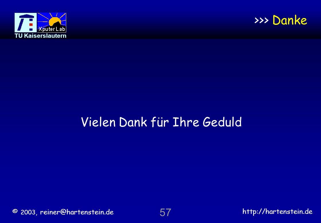 © 2003, reiner@hartenstein.de http://hartenstein.de TU Kaiserslautern 56 Informatik-Kurrikula verfehlen den veränderten Arbeitsmarkt Eingebettete Soft