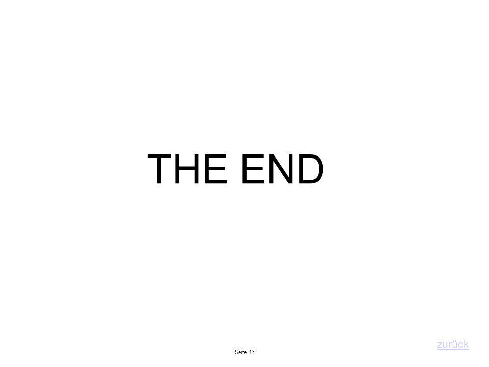 Seite 45 THE END zurück