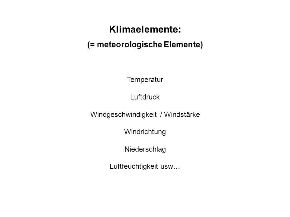 Globales Klima: