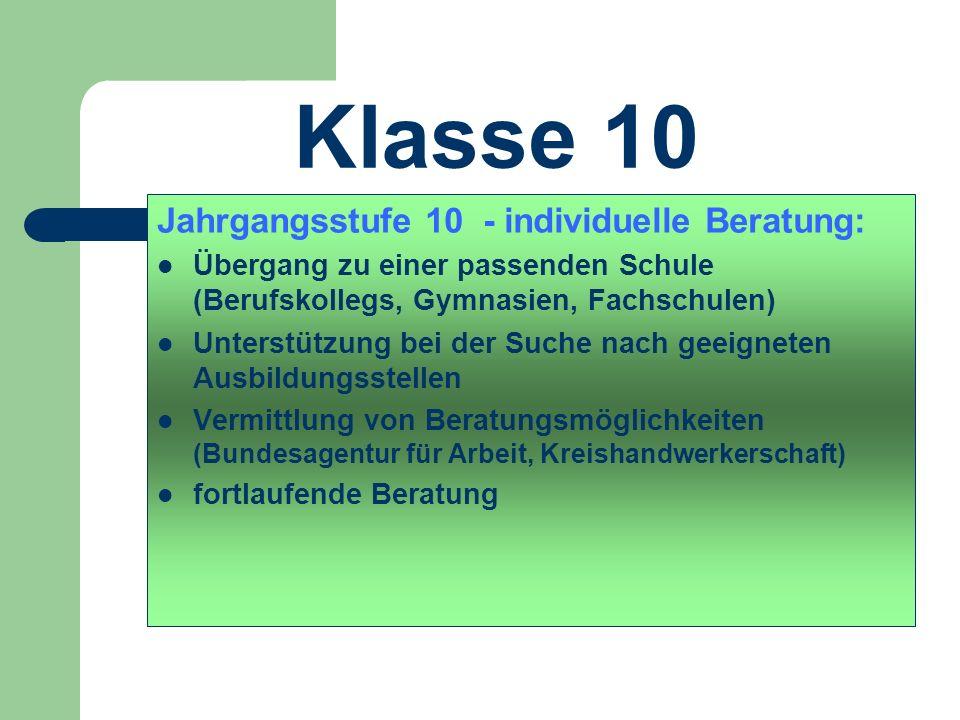 Klasse 9 Praktika -Tür zur Ausbildung Anforderungen an Praktika – Praktikum in einem Ausbildungsberuf – möglichst in einem Ausbildungsbetrieb – in ein