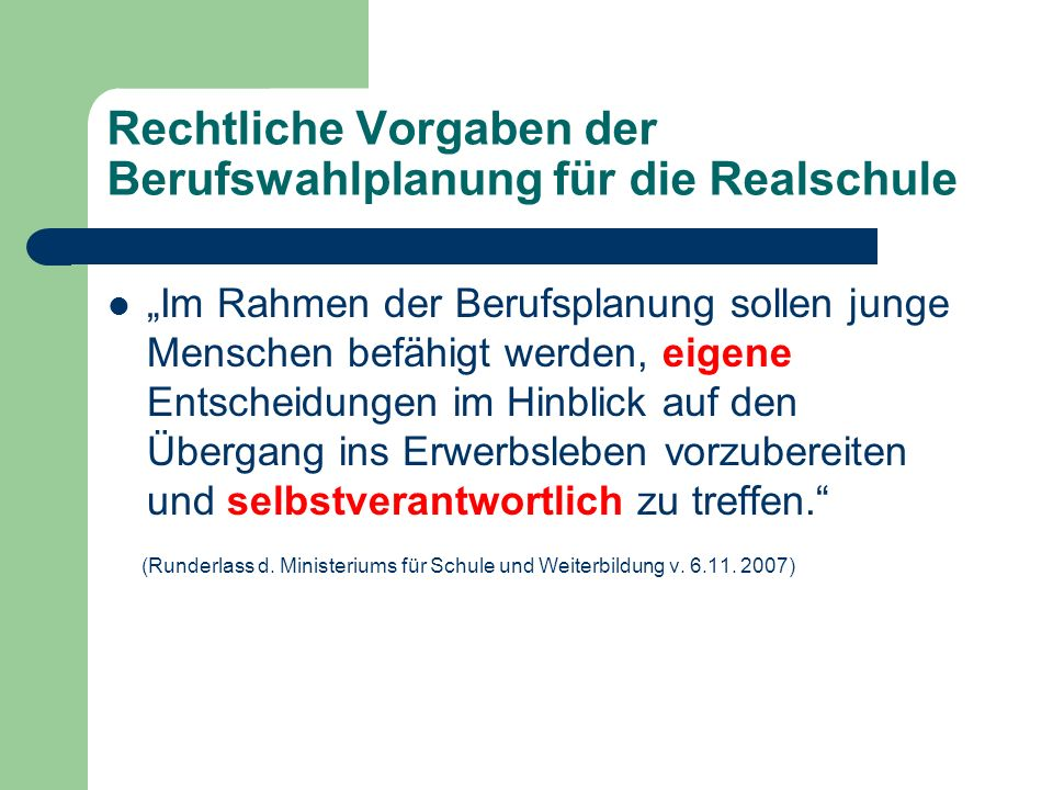 Berufswahlvorbereitung Albert – Schweitzer Realschule Bocholt Informationsabend für Eltern – Dienstag, 11. Juli 2013