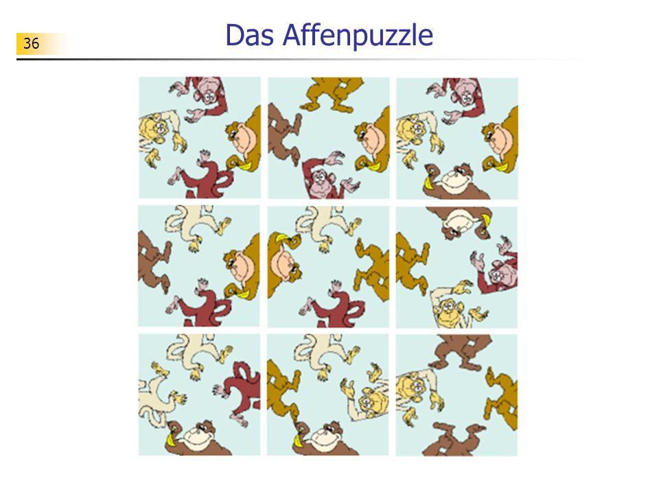 36 Das Affenpuzzle