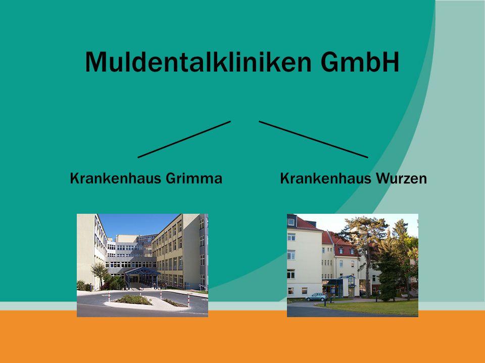 Muldentalkliniken GmbH Krankenhaus Grimma Krankenhaus Wurzen