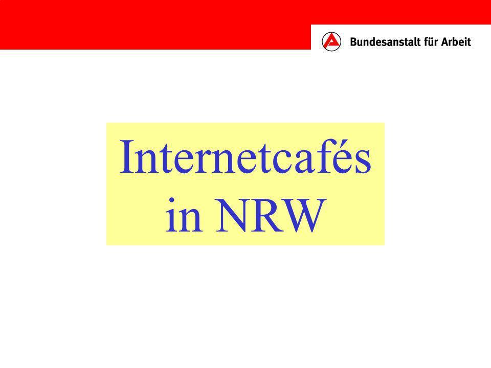 Internetcafés in NRW