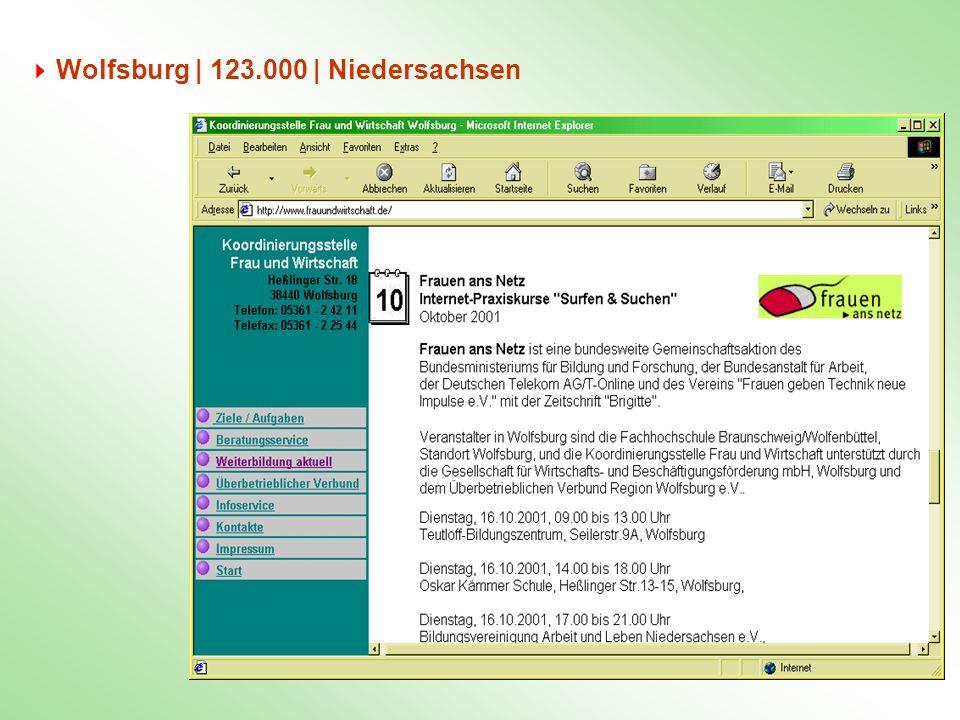 Wolfsburg | 123.000 | Niedersachsen
