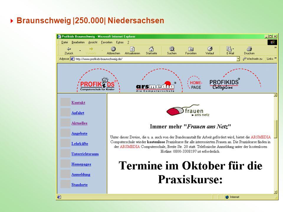 Braunschweig |250.000| Niedersachsen
