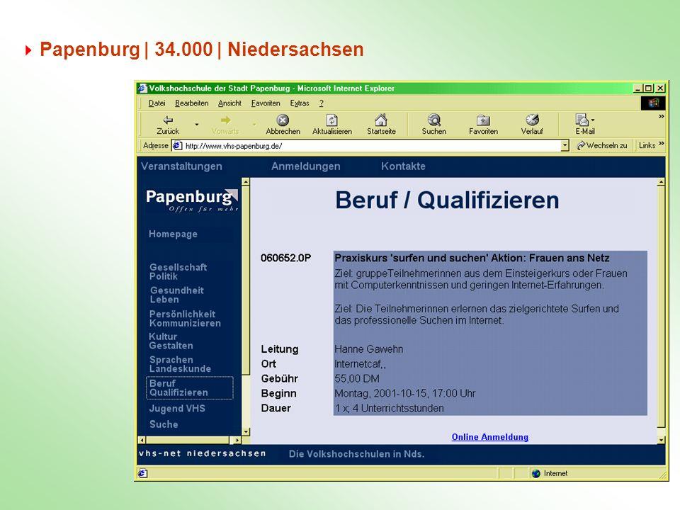 Papenburg | 34.000 | Niedersachsen