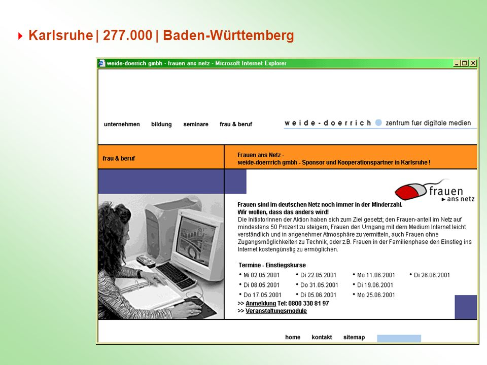 Karlsruhe | 277.000 | Baden-Württemberg