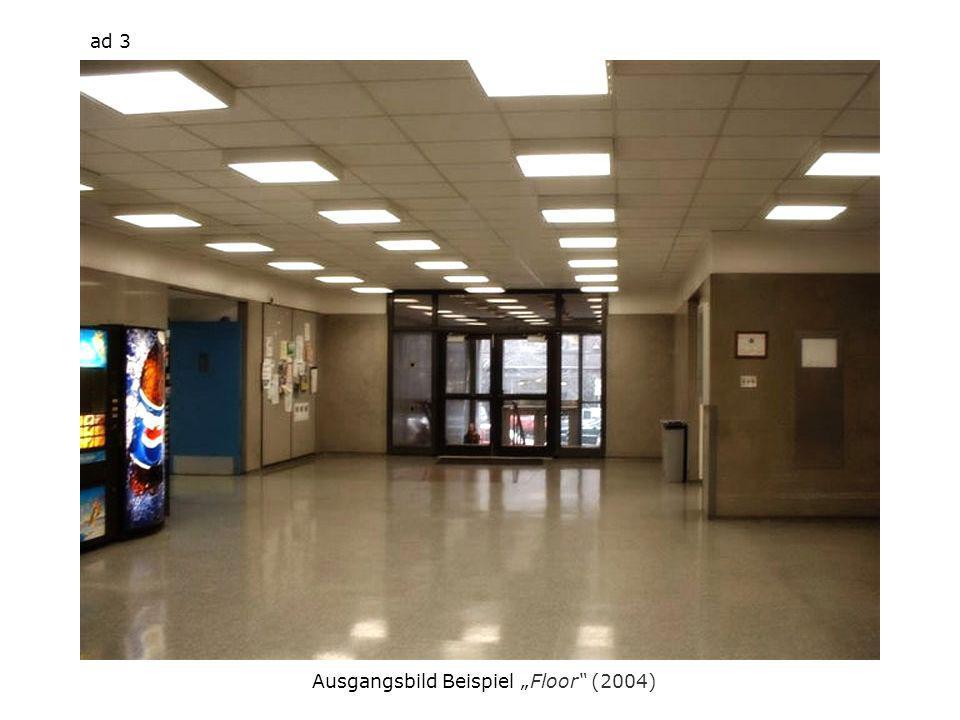 Ausgangsbild Beispiel Floor (2004) ad 3