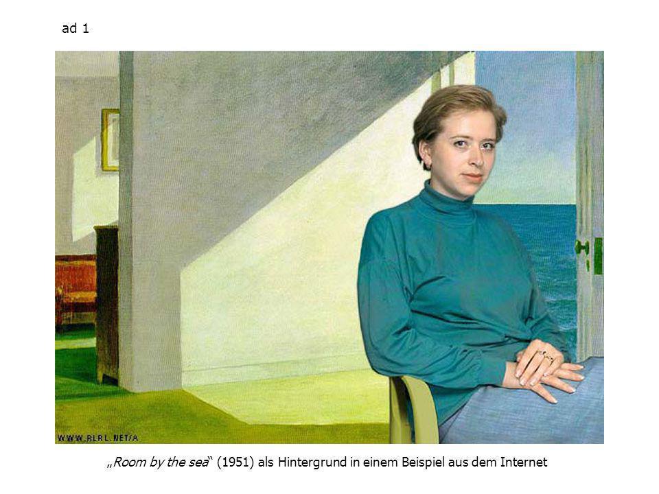 ad 1 Room by the sea (1951) als Hintergrund in einem Beispiel aus dem Internet