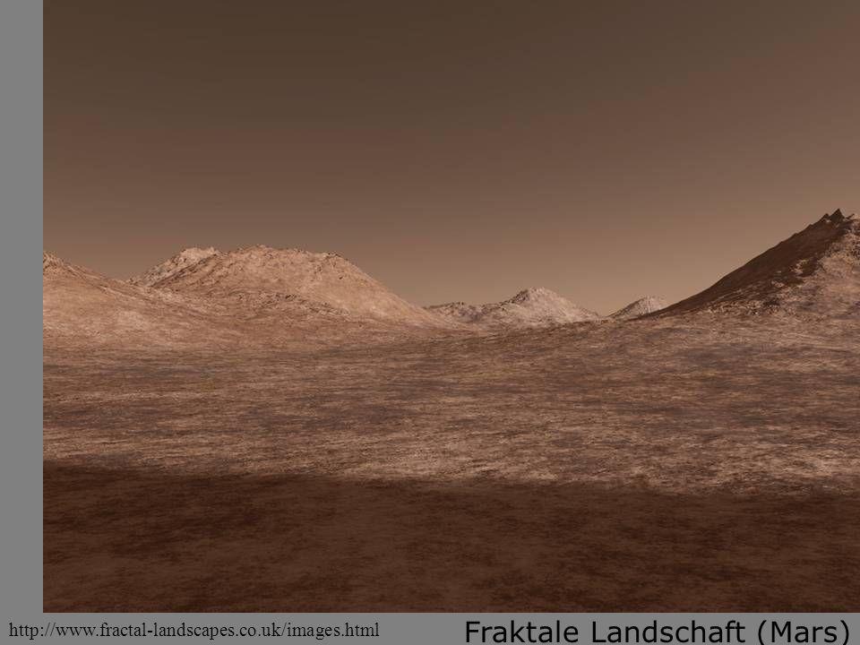 http://www.fractal-landscapes.co.uk/images.html Fraktale Landschaft (Mars)