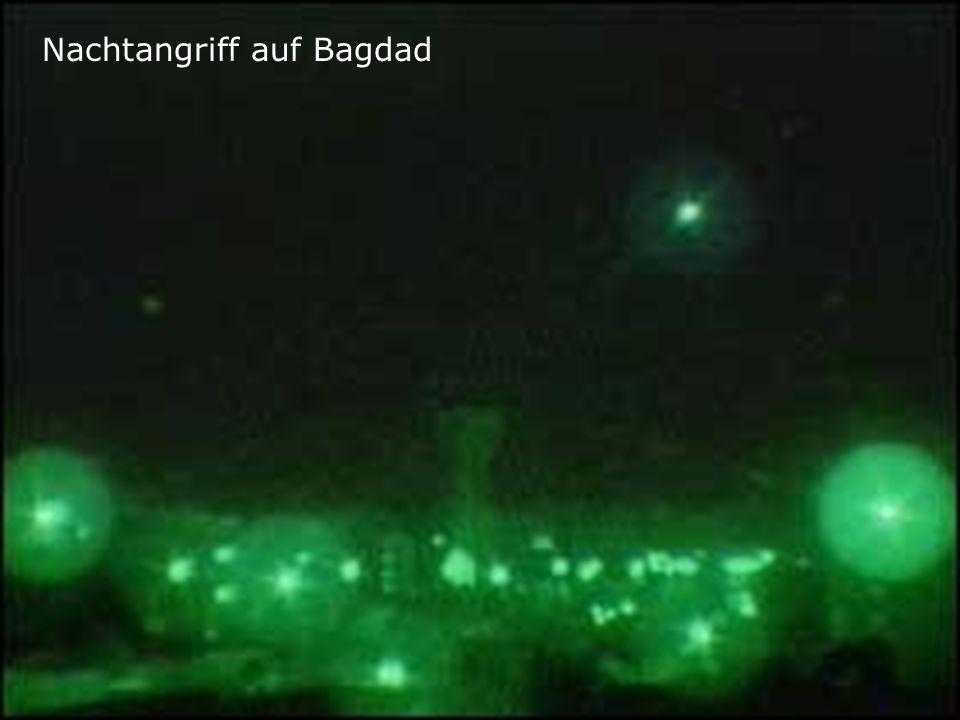Nachtangriff auf Bagdad