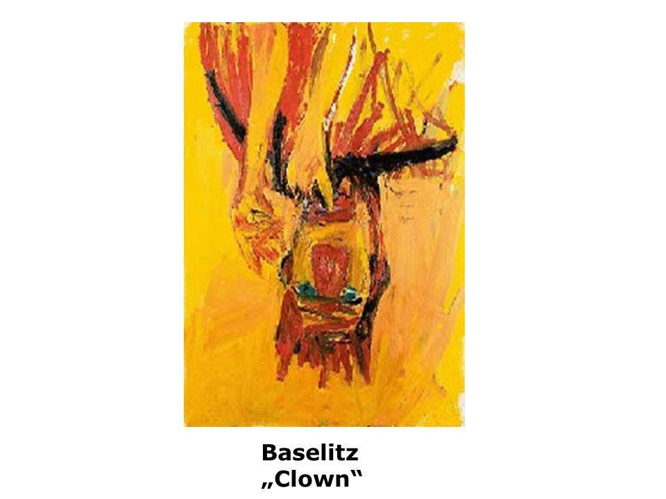 Baselitz Clown
