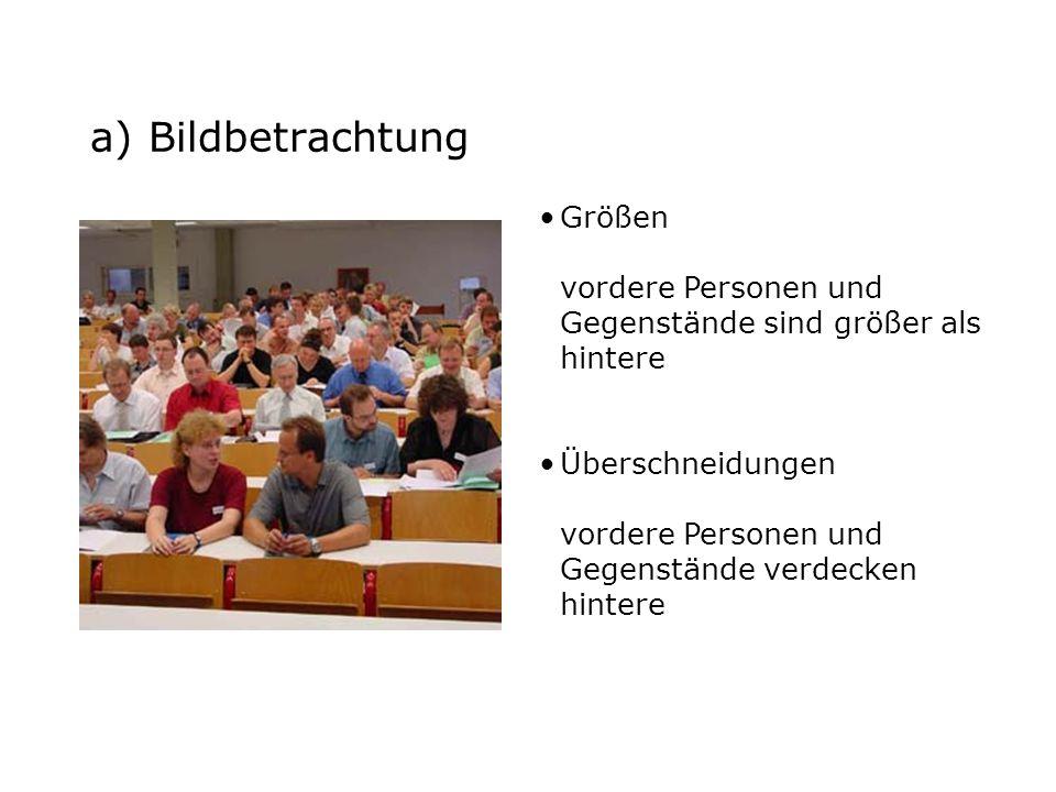 b) Aufgabe Auf dem folgenden Bild kannst du Personen in einem Saal sehen.