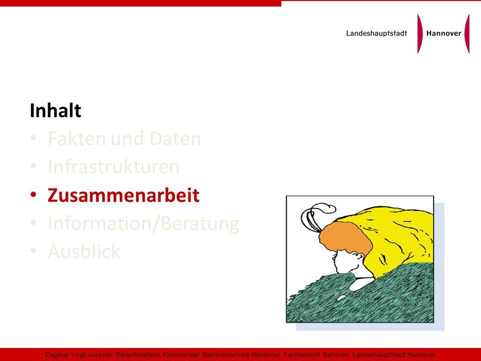 Inhalt Fakten und Daten Infrastrukturen Zusammenarbeit Information/Beratung Ausblick