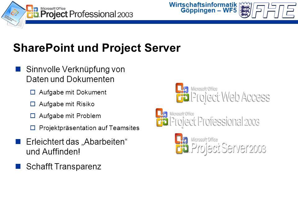 Wirtschaftsinformatik Göppingen – WF5 Dokumente Diskussionen Aufgaben Kontakte Umfragen Mitglieder Kalender