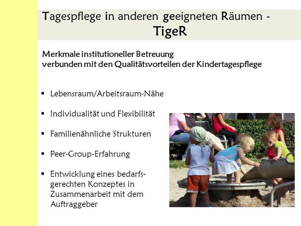 Anschlussbetreuung Kindergärten Beginn Februar 2009 St.