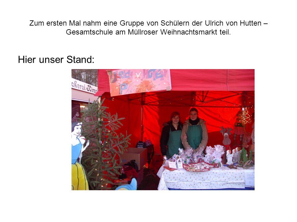 Weihnachtsmarkt Müllrose 2005
