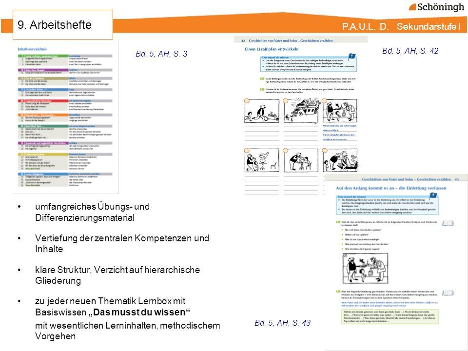 P.A.U.L. D. Sekundarstufe I umfangreiches Übungs- und Differenzierungsmaterial Vertiefung der zentralen Kompetenzen und Inhalte klare Struktur, Verzic